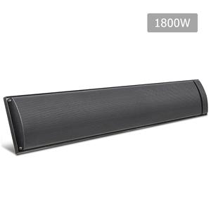 Devanti 1800W Electric Heater Panel - Bl