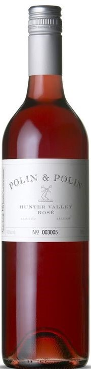 Polin & Polin John Rook's Rose 2014 (12 x 750mL), Hunter Valley, NSW.