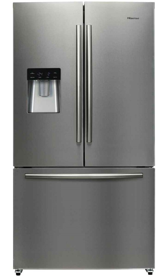 Hisense Stainless Steel 630L French Door Fridge (HR6FDFF630S)
