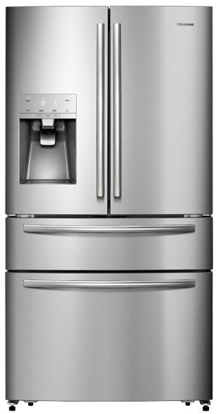 Hisense Stainless Steel 701L French Door Fridge (HR6FDFF701SW)