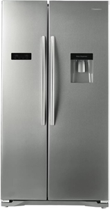 Hisense Stainless Steel 610L Side by Sid