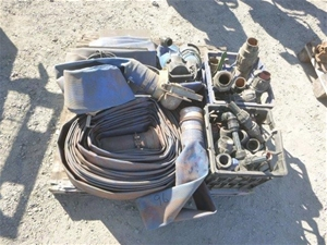 Lay Flat Hose and PVC Couplers