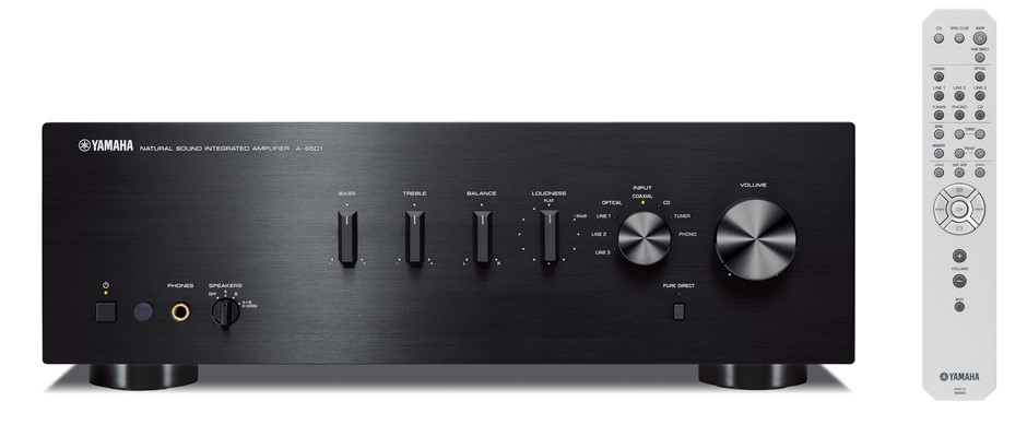 Yamaha A-S501 2 Channel Stereo Amplifier (Black)