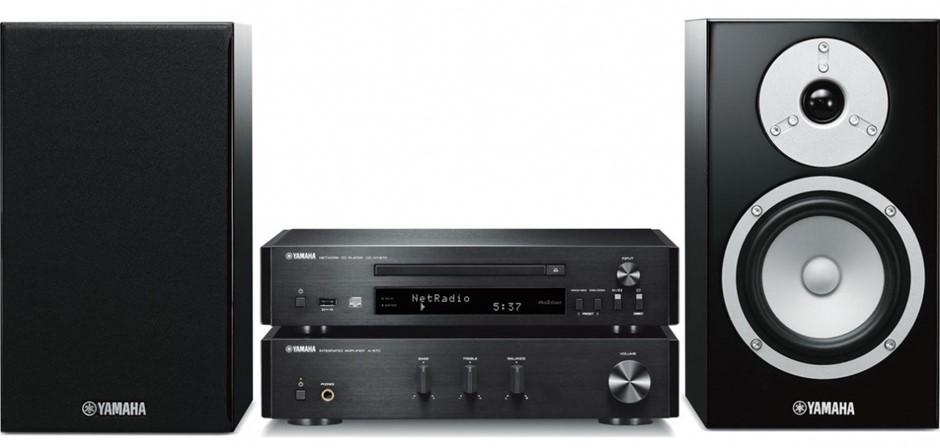 Yamaha MCRN670 Micro HiFi System (Black)