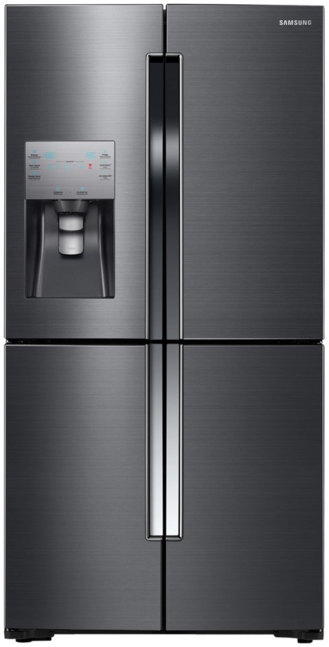 Samsung 719L 4 Door Fridge (Black Steel) (SRF717CDBLS)