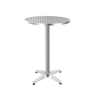 Gardeon Aluminium Adjustable Round Bar T