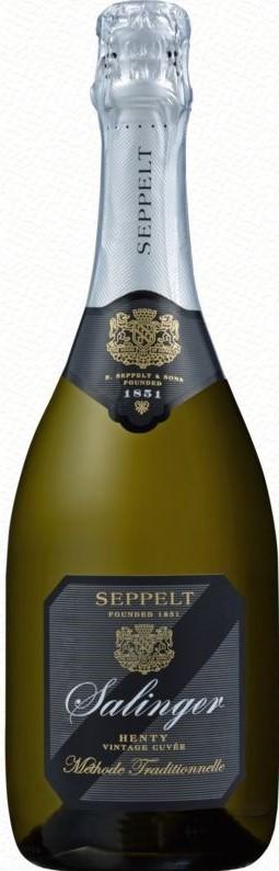 Seppelt `Salinger` Vintage Pinot Chardonnay 2013 (6 x 750mL), Henty, VIC.
