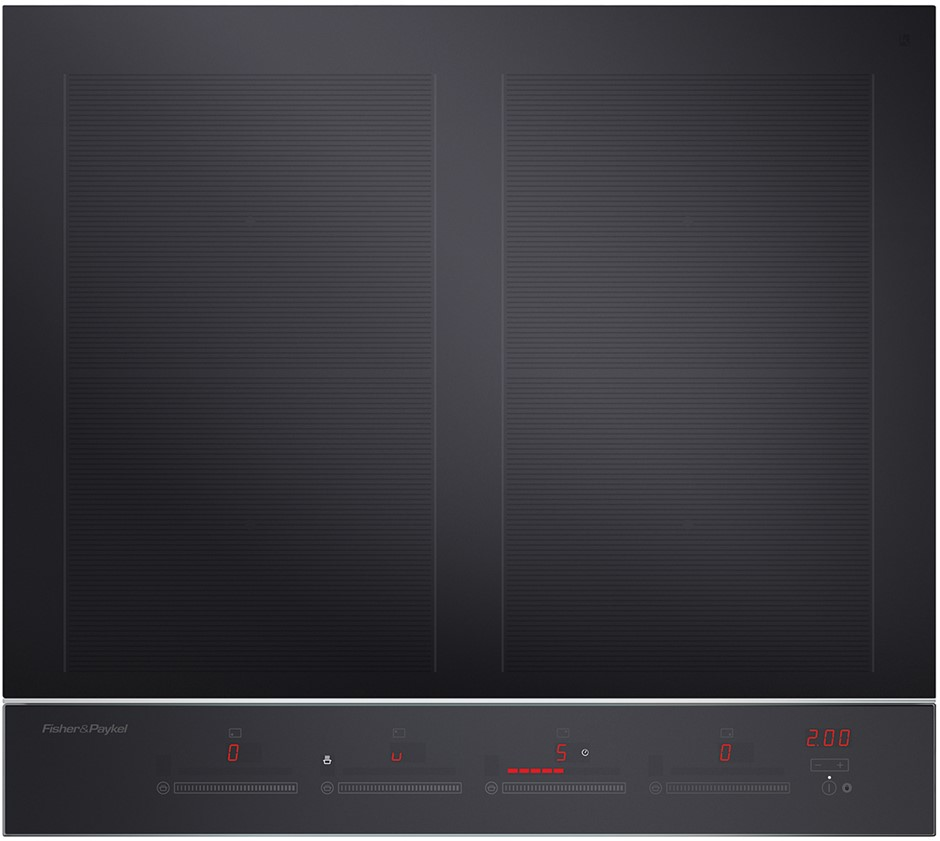 Fisher & Paykel 60cm 4 Zone with SmartZone Induction Cooktop (CI604DTB3)