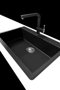 Buy Ytalo Navona Black Quartz/Granite Kitchen sink | GraysOnline ...