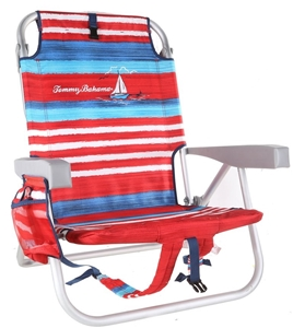Strange Tommy Bahama Fold Up Beach Chair With Carry Backpack Straps Squirreltailoven Fun Painted Chair Ideas Images Squirreltailovenorg