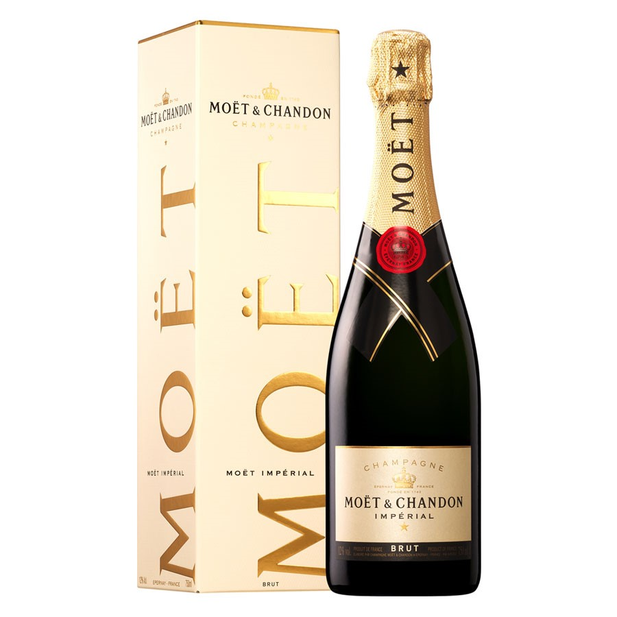 Moët & Chandon Impérial NV (6 x 750mL Giftboxed), Champagne, FR.