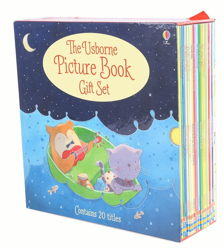 The Usborne Picture Book Gift Set, Contains 20 Titles. Buyers Note - Discou