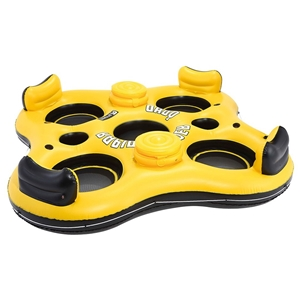 Bestway 4 Person Inflatable Floating Isl