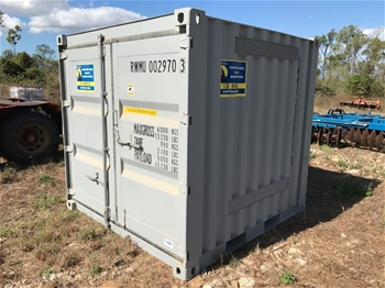 8'x8' Shipping Container