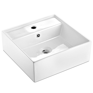 Cefito Ceramic Rectangle Sink Bowl - Whi