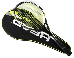 la meilleure attitude 672ca e5c72 HEAD HEAT Tennis Racket with Case. N.B. Some strings broken ...