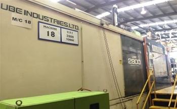 2800 Tonne Injection Moulding Machine