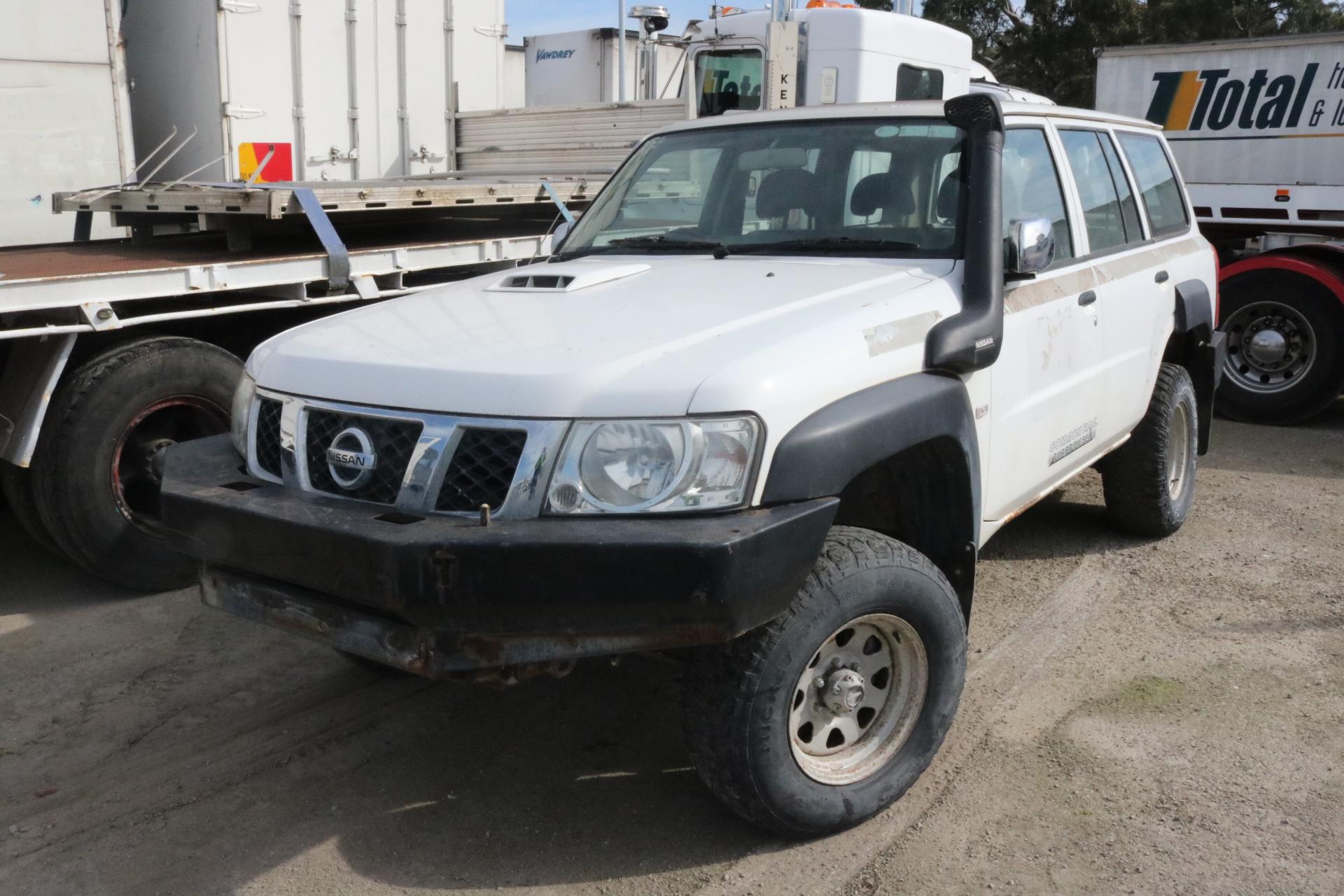2010 nissan patrol dx 4x4 gu turbo diesel automatic 4 speed wagon