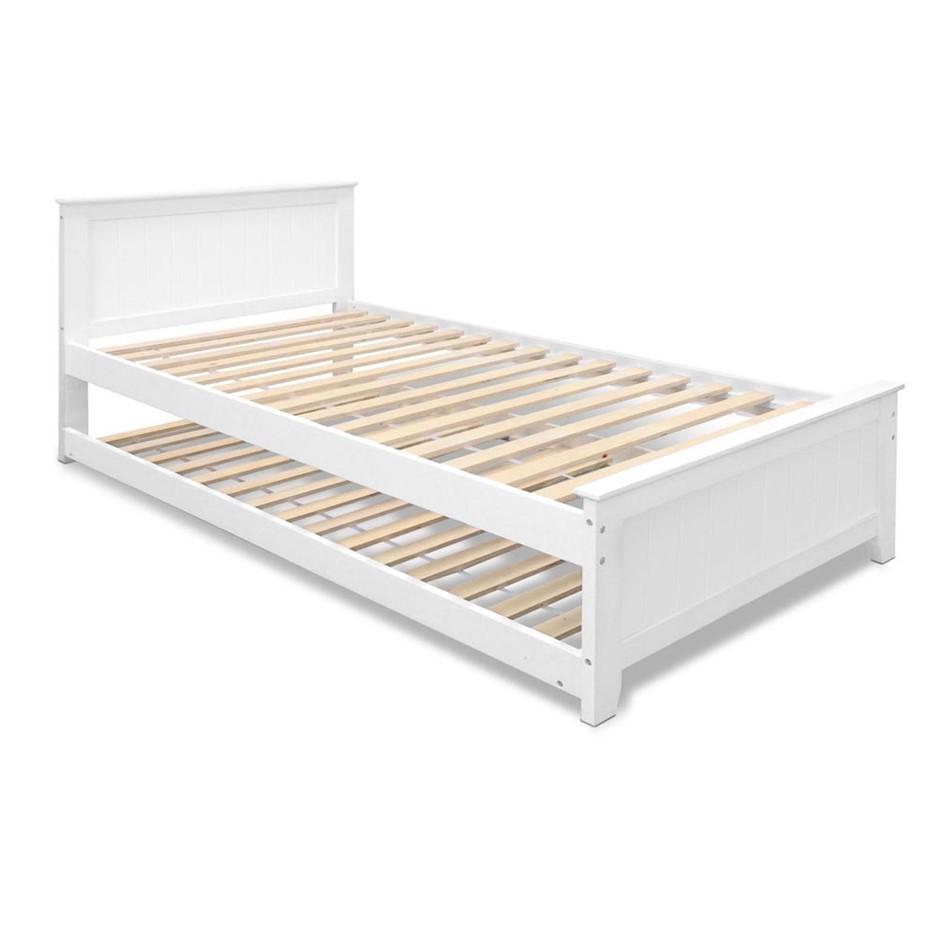 Buy Artiss King Single Size Wooden Bed Frame Graysonline Australia