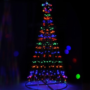 Jingle Jollys 2.1m LED Christmas Tree