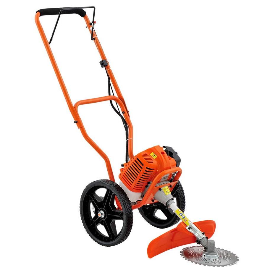 Giantz 3 in 1 Wheeled Trimmer - Orange