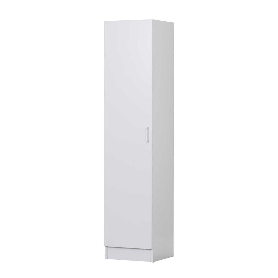 Single Door Multi-purpose Cupboard - White