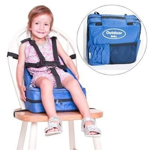 Outdoor Baby Portable Booster Seat Blue