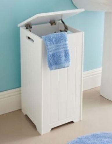 Maine Bathroom Laundry Hamper