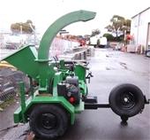 Ex - Hire Equipment - Wood chipper & Tri axel trailer