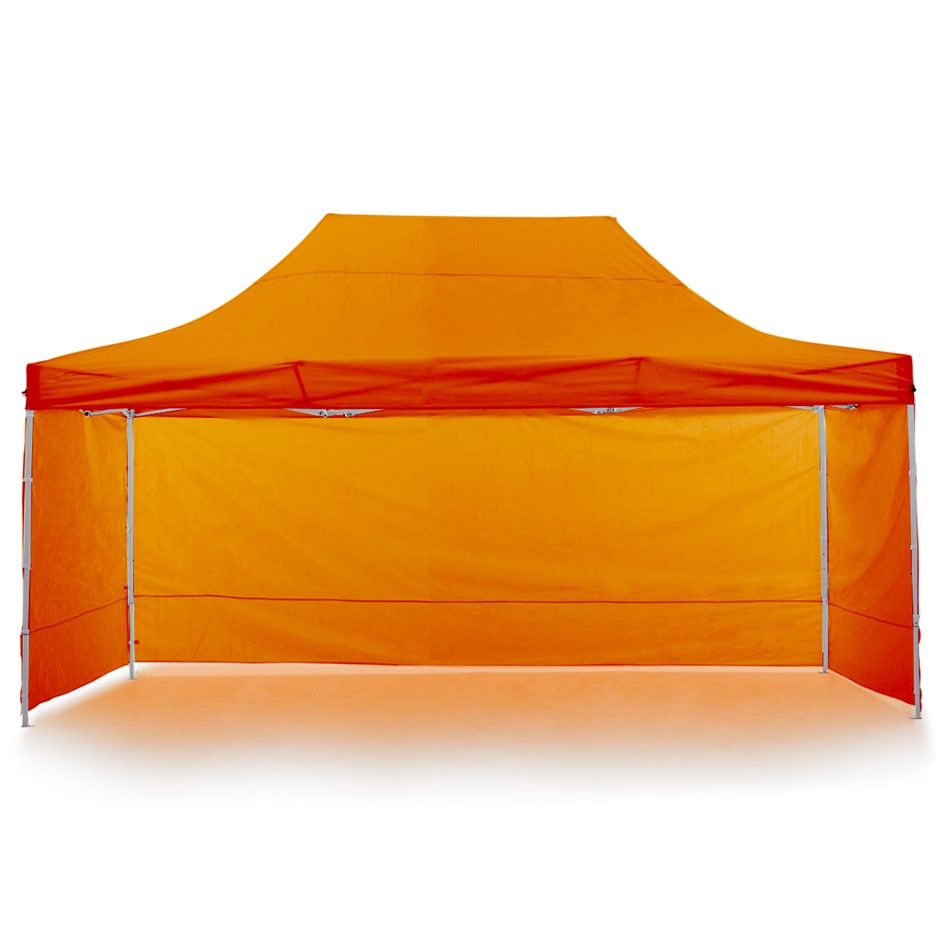 Wallaroo 3x4.5m Popup Gazebo Orange