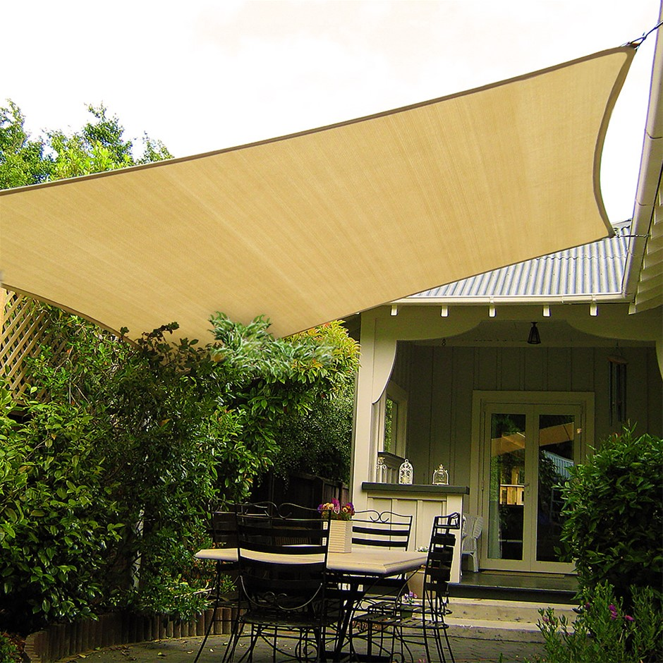 Wallaroo Shade sail 3.6 x 3.6m Square