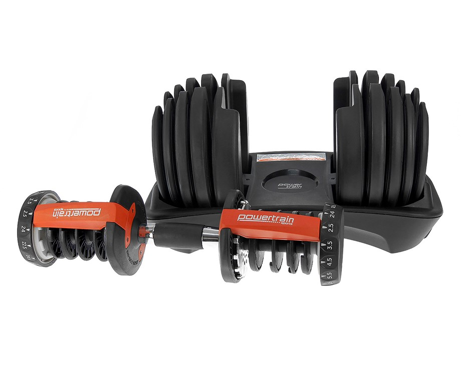 Powertrain Adjustable Dumbbell Set - 48kg