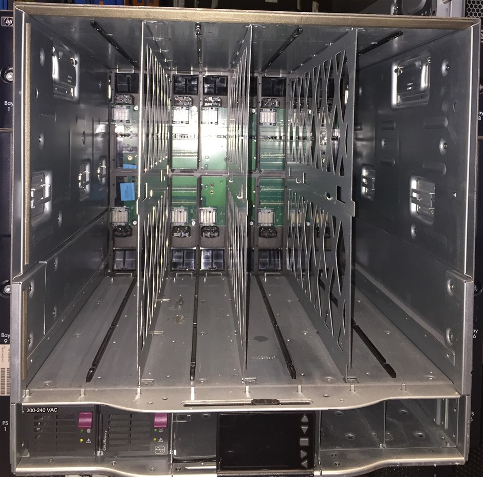HP Blade System BLC7000 Gen 1 Single-Phase Blade System Enclosure