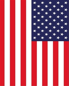 MONO - USA RED - 150 x 210cm