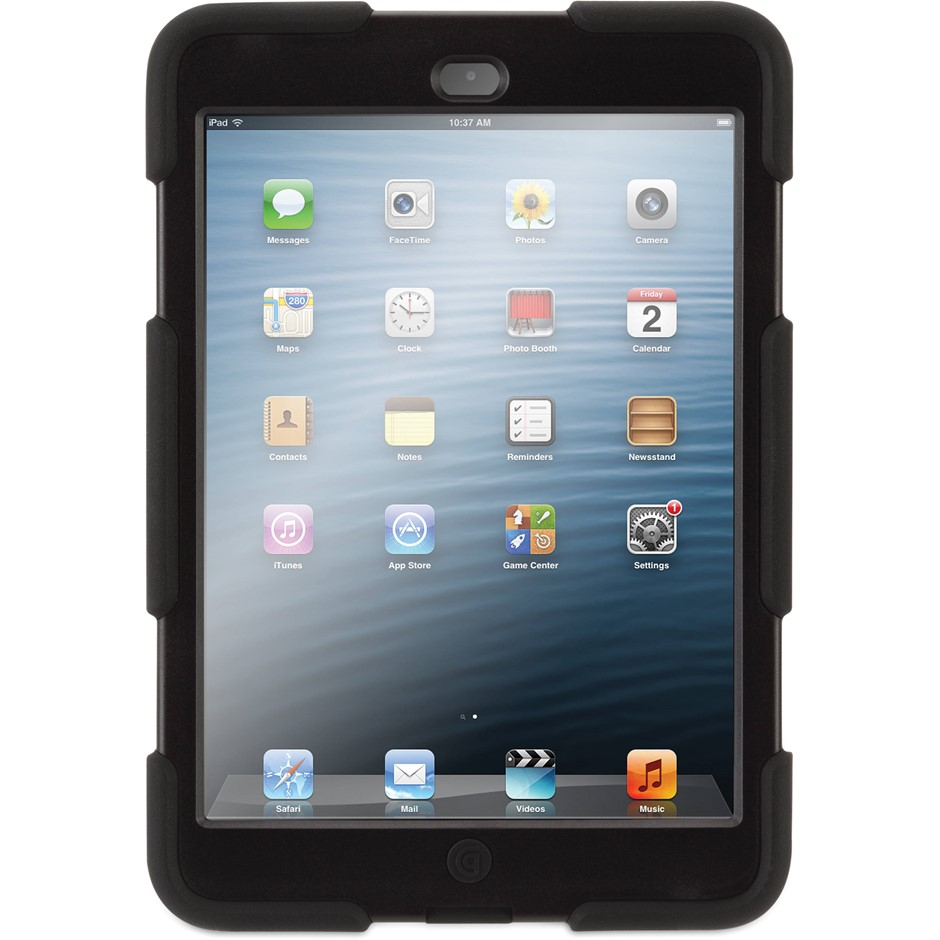 Griffin Survivor Case For iPad mini (Black)