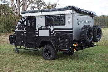 2018 ARMOR A15 Caravan Hybrid - Double Bunk & Ensuite Model