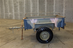 Single Axle Cargo Trailer Australian No.