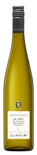 McGuigan `The Shortlist` Riesling 2017 (6 x 750mL), Eden Valley, SA.