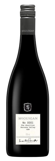McGuigan `The Shortlist` GSM 2016 (6 x 750mL), Barossa, SA.