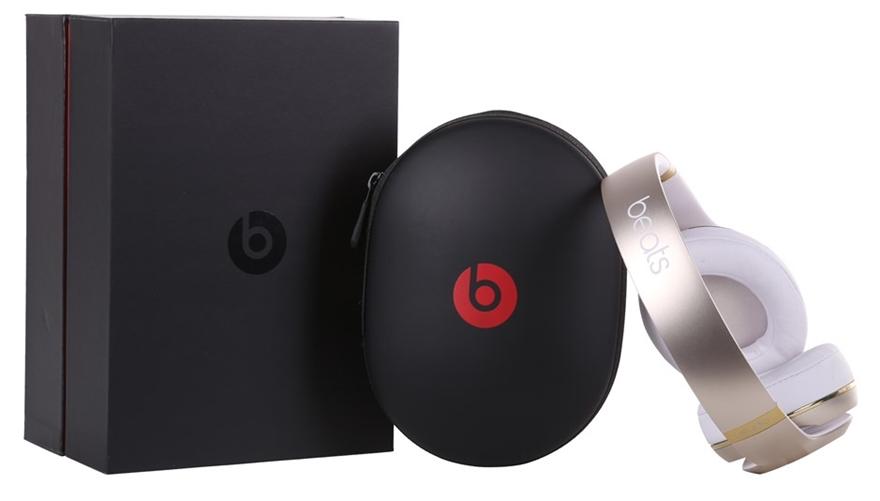 Beats By Dr Dre Studio 2 0 Wireless Over Ear Headphones White Gold Model Auction Graysonline Australia