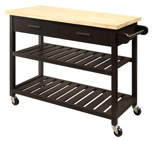 Kitchen Island Trolley Buy kitchen island trolley top with open shelves black kitchen island trolley top with open shelves black workwithnaturefo