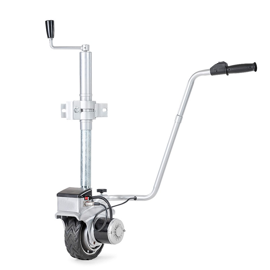 12V - 350 watt Motorised Mover Jockey Wheels