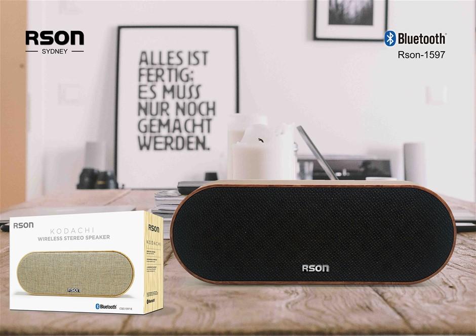 Rson Kodachi Walnut Wireless Speaker (1597)