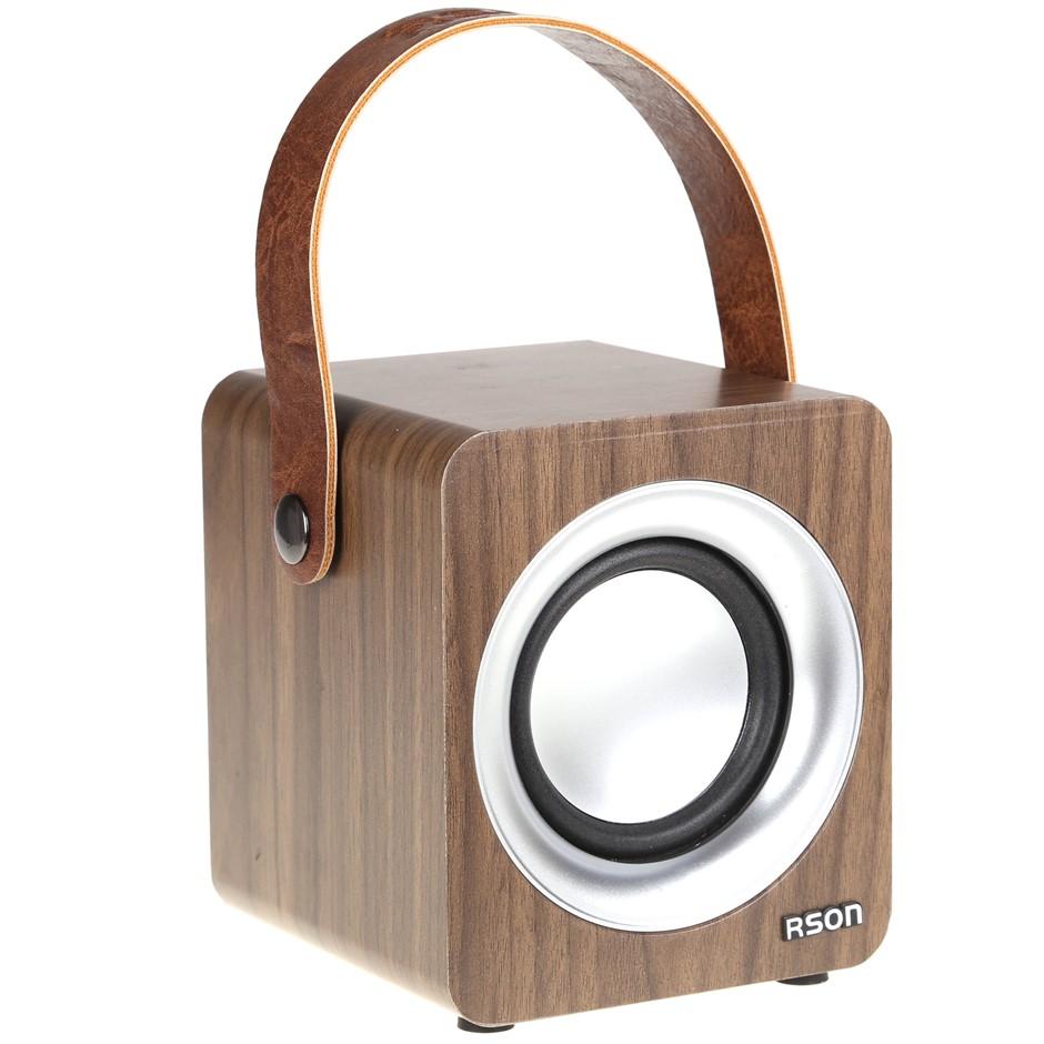 RSON Bluetooth Wireless Speaker 5W, Operating Distance 10M, Music Playtime