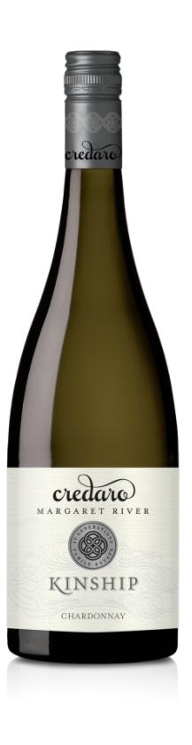 Credaro `Kinship` Chardonnay 2017 (6 x 750mL), Margaret River, WA.
