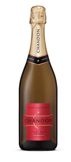 Chandon Pinot Noir Shiraz NV (6 x 750mL), Yarra Valley, VIC.