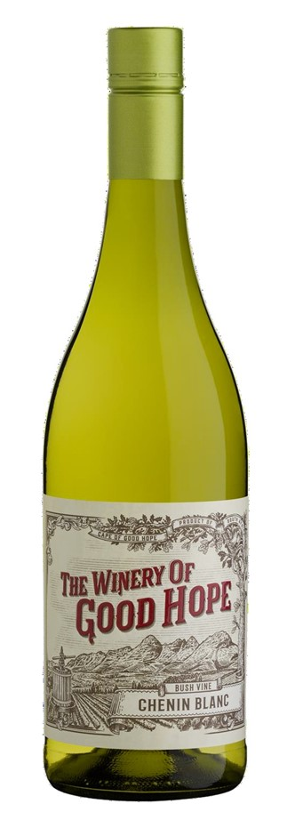 The Winery of Good Hope `Bush Vine` Chenin Blanc 2018 (12 x 750mL), ZA.