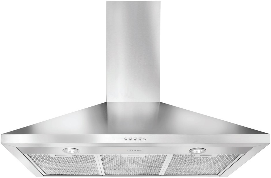 ILVE 90cm Stainless Steel Canopy Range Hood (IVG901/X1)
