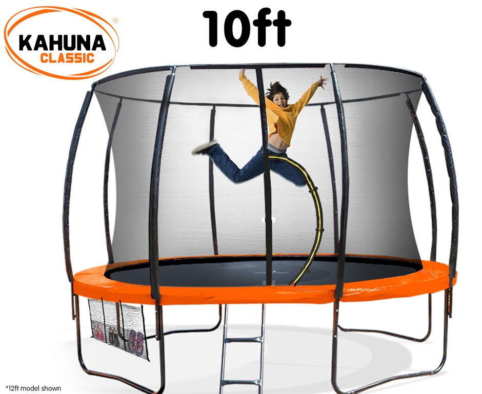 Kahuna Trampoline 10 ft - Orange