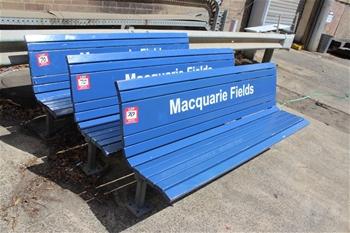 Sydney Train Platform Benches